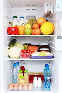Healthy Food in Refrigerator